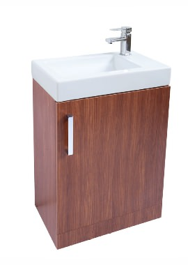 Related Kartell Liberty Walnut Finish 550mm Unit With Basin