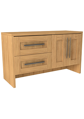 Related Timber Modular 1200mm Freestanding 2 Drawer And 2 Door Unit