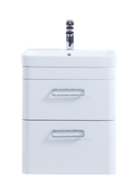Related Kartell Metro 500mm White Drawer Unit With Ceramic Basin