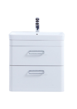 Related Kartell Metro 600mm White Drawer Unit With Ceramic Basin