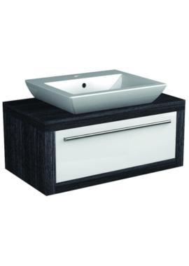 Related I-Line Modular 900mm Single Drawer Unit With Elegant Ceramic Basin