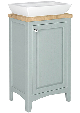 Related Downton 450mm Freestanding Single Door Cloakroom Unit