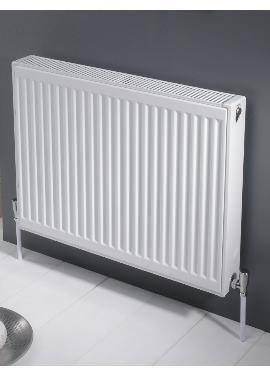 Related Kartell K-RAD Kompact Double Panel Single Convector Radiator 600 X 600mm