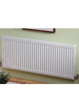 Related Kartell K-RAD Kompact Double Panel Single Convector Radiator 1500 X 600mm