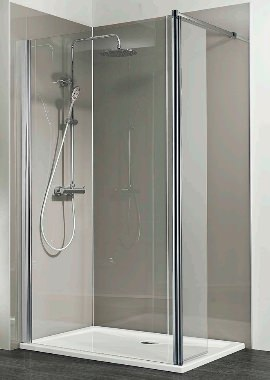 Related HSK Walk In Easy 1 Shower Panel With Inline Panel 1400 x 350 x 2000mm