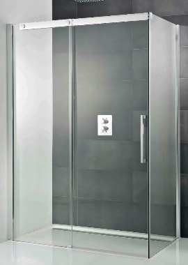 Related HSK K2P Single Slider Shower Door And Side Panel 1200 x 900 x 2000mm