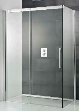 Related HSK K2P Single Slider Shower Door And Side Panel 1400 x 900 x 2000mm