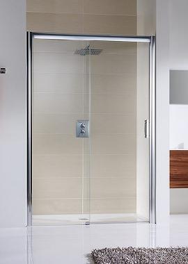 Related HSK Solida 1200 x 2000mm Single Slider Shower Door For Rcess