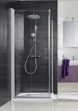 Related HSK Favorit Nova Pivot Shower Door For Side Panel 760 x 1950mm
