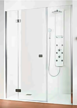 Related HSK Premium Softcube Spacious Recess Hinged Shower Door 1600 x 2000mm