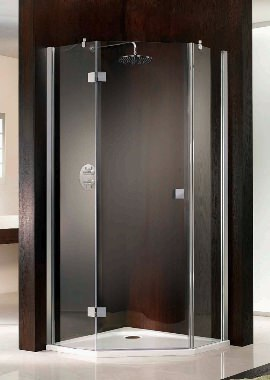 Related HSK Atelier Single Pivot Door Pentagon Shower Enclosure 1000 x 1000mm