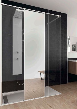 Related HSK Walk In Pro Concept 3 Elements Shower Panel 1600 x 2000mm