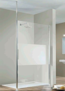 Related HSK Walk In Easy Comfort Front Shower Panel 1400 x 2000mm