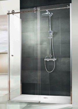 Related HSK Regency Single Slider Shower Door With Side Panel 1200 x 800mm
