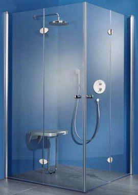 Related HSK Exklusiv Bi-fold Doors Corner Entry Shower Enclosure 900 x 900mm