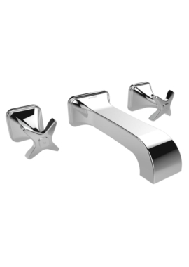 Related Bristan Glorious 3 Hole Wall Mounted Bath Filler Tap