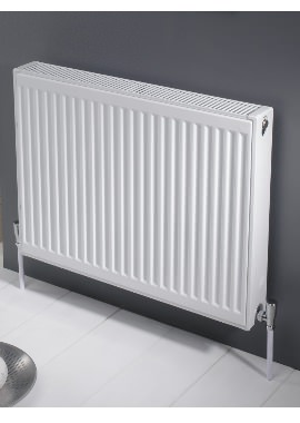 Related Kartell K-RAD Kompact Single Panel Single Convector Radiator 400 X 600mm