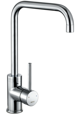 Related 1810 Company Cascata Square Spout Kitchen Sink Mixer Tap Chrome