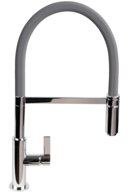 Related 1810 Company Spirale Flexible Spout Kitchen Mixer Tap With Anthracite Hose