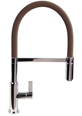 Related 1810 Company Spirale Flexible Spout Kitchen Mixer Tap With Chocolate Hose