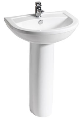 Related QX Carolina 450 x 360mm Basin With 1 Tap Hole