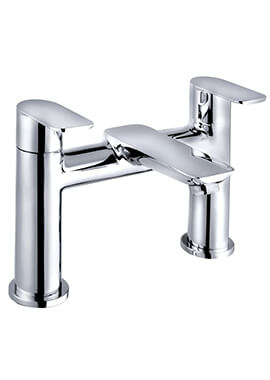 Related QX Charlotte 2 Hole Bath Filler Tap