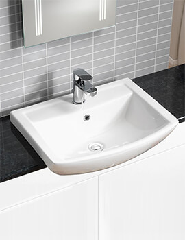 Related QX Eden 550 x 430mm Semi-Recessed Basin