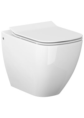 Related QX Metropolitan Back-To-Wall Pan And Soft Close Seat