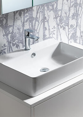 Related QX Cornell 550 x 420mm Vanity Basin With 1 Tap Hole