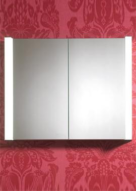 Related QX Nimbus 2 Door Mirrored Cabinet 800 x 650mm