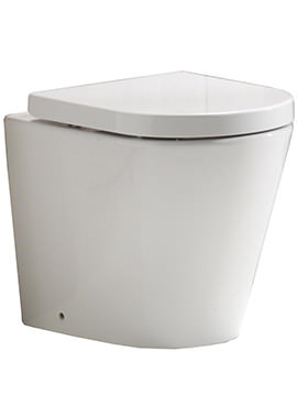 Related QX Oregon Back-To-Wall Pan And Soft Close Seat