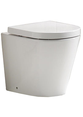 Related QX Opal Back-To-Wall Pan And Soft Close Seat