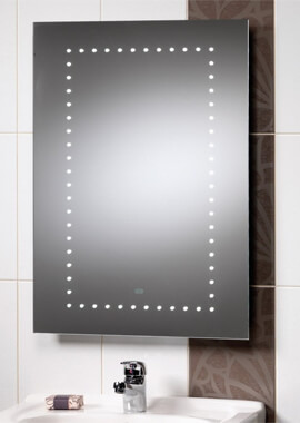 Related QX Atlanta 500 x 700mm Mirror With Integrated LED Lights