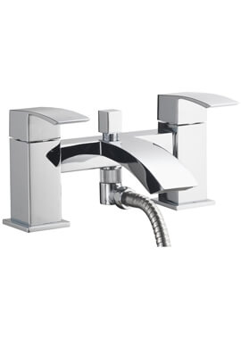 Related QX Vermont Bath Shower Mixer Tap And Kit