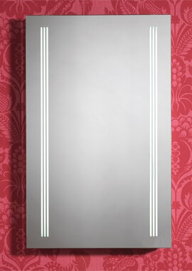 Related QX Virginia 500 x 800mm Mirror With Integrated LED Light Strips
