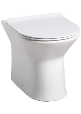Related QX Venice Rimless Back-to-Wall Pan And Soft Close Seat