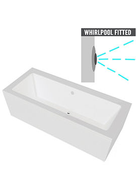 Related QX Nevada 1700 x 800mm Bath With Option 3 Whirlpool