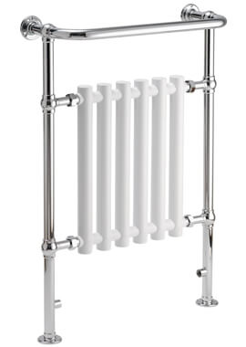 Related QX Leo 683 x 952 Traditional Towel Rail - White