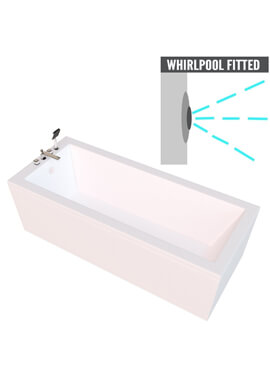 Related QX Montana 1500 x 700mm Bath With Option 2 Whirlpool System