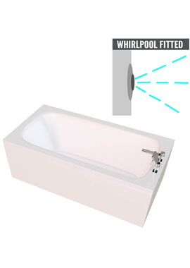 Related QX Carolina 1400 x 700mm With Option 1 Whirlpool System