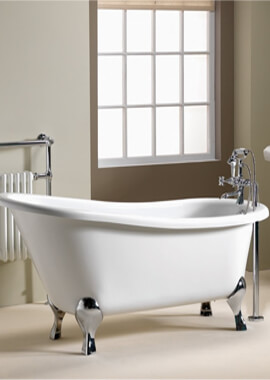 Related QX Diana 1700 x 750mm Traditional Slipper Bath