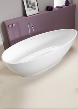 Related QX Icon 1750 x 830mm Contemporary Freestanding Bath