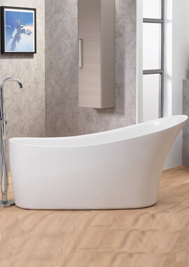 Related QX Roma 1650 x 700 Freestanding Bath