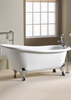Related QX Diana 1600 x 740mm Traditional Slipper Bath