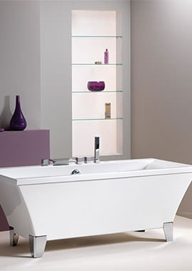 Related QX Warwick 1700 x 740mm Freestanding Bath Including Feet