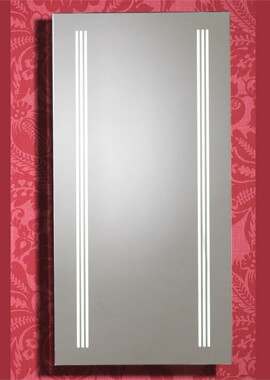 Related QX Roma 400 x 800mm Mirror With Integrated LED Light Strips