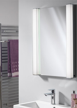 Related QX Incus 500 x 700 x 156mm Recessed Mirrored Cabinet
