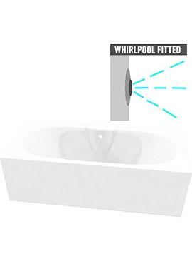 Related QX Nebraska 1700 x 750mm Superspec Bath With Option 2 Whirlpool