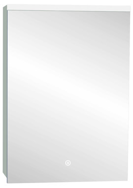 Related Frontline Paris 500 x 700mm Stainless Steel LED Mirror Cabinet