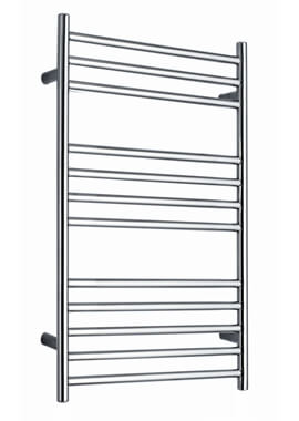 Related Stride 500 x 800mm Heated Towel Rail Stainless Steel